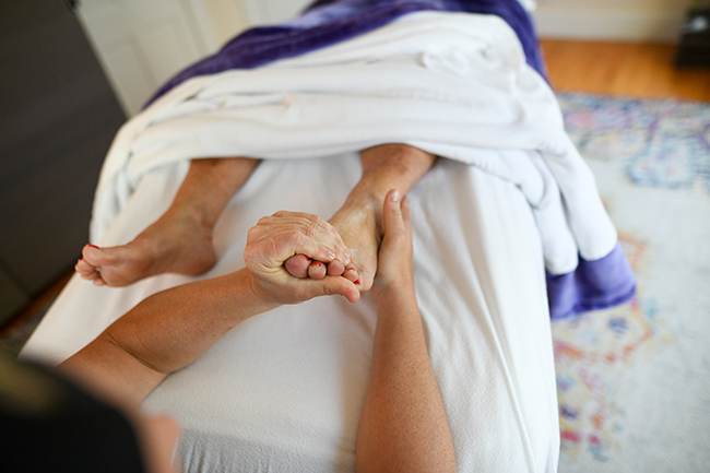 foot massage in Dover