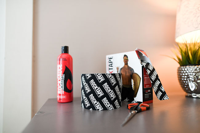 Kinesiology Taping with RockTape
